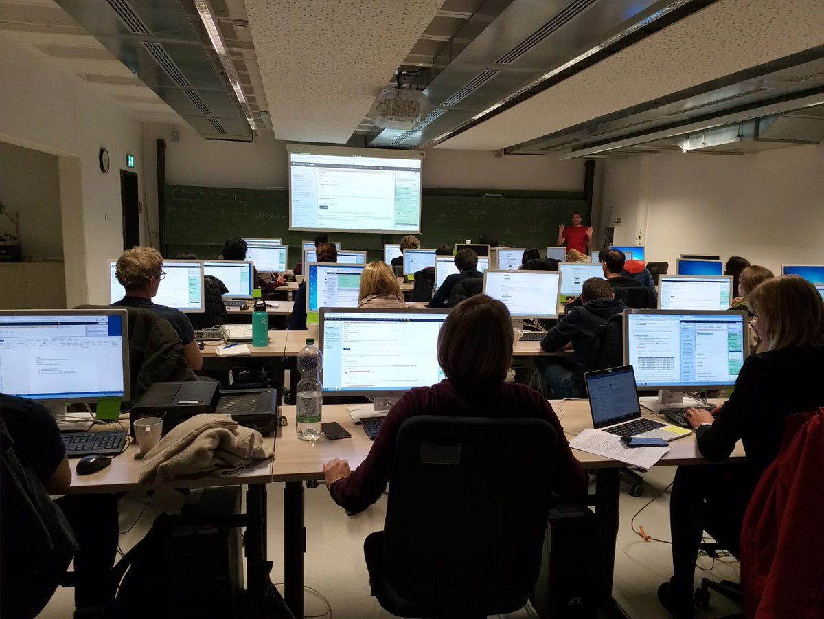 A successful Galaxy workshop in Freiburga